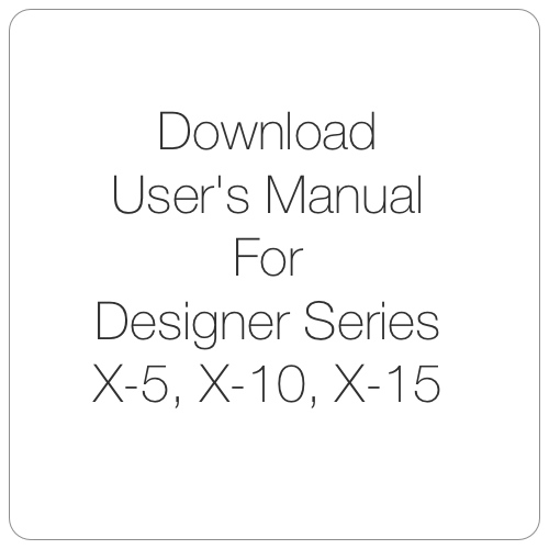 Designer Series Manual