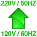 Step Up 120V/60Hz to 220V/50Hz